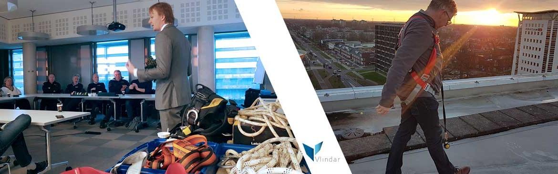 Training-veilig-werken-op-hoogte-voor-werknemers-Vlindar